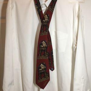 Norman Rockwell Saturday Evening Post Tie